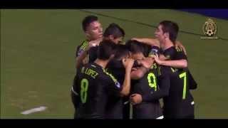 Mexico vs Costa Rica 4-0 Grupo B Preolimpico 2015