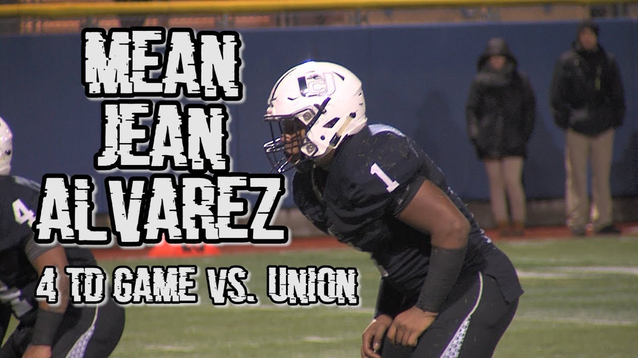 Union City 46 Union 6 | N2G5 Semifinals | Jean Alvarez 4 TD Game