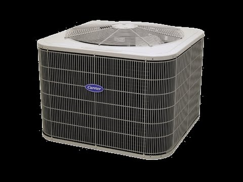 Hvac Install Carrier Heat Pump System Youtube