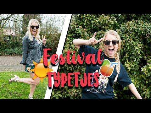 TYPETJES OP EEN FESTIVAL + WINACTIE TICKETS | Girlsworldproblems