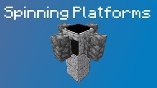 Spinning Platforms in Minecraft 1.8 - Redstone Creation thumbnail