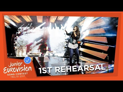 EXCLUSIVE REHEARSAL FOOTAGE - POLINA BOGUSEVICH - WINGS - RUSSIA 🇷🇺 - JUNIOR EUROVISION 2017