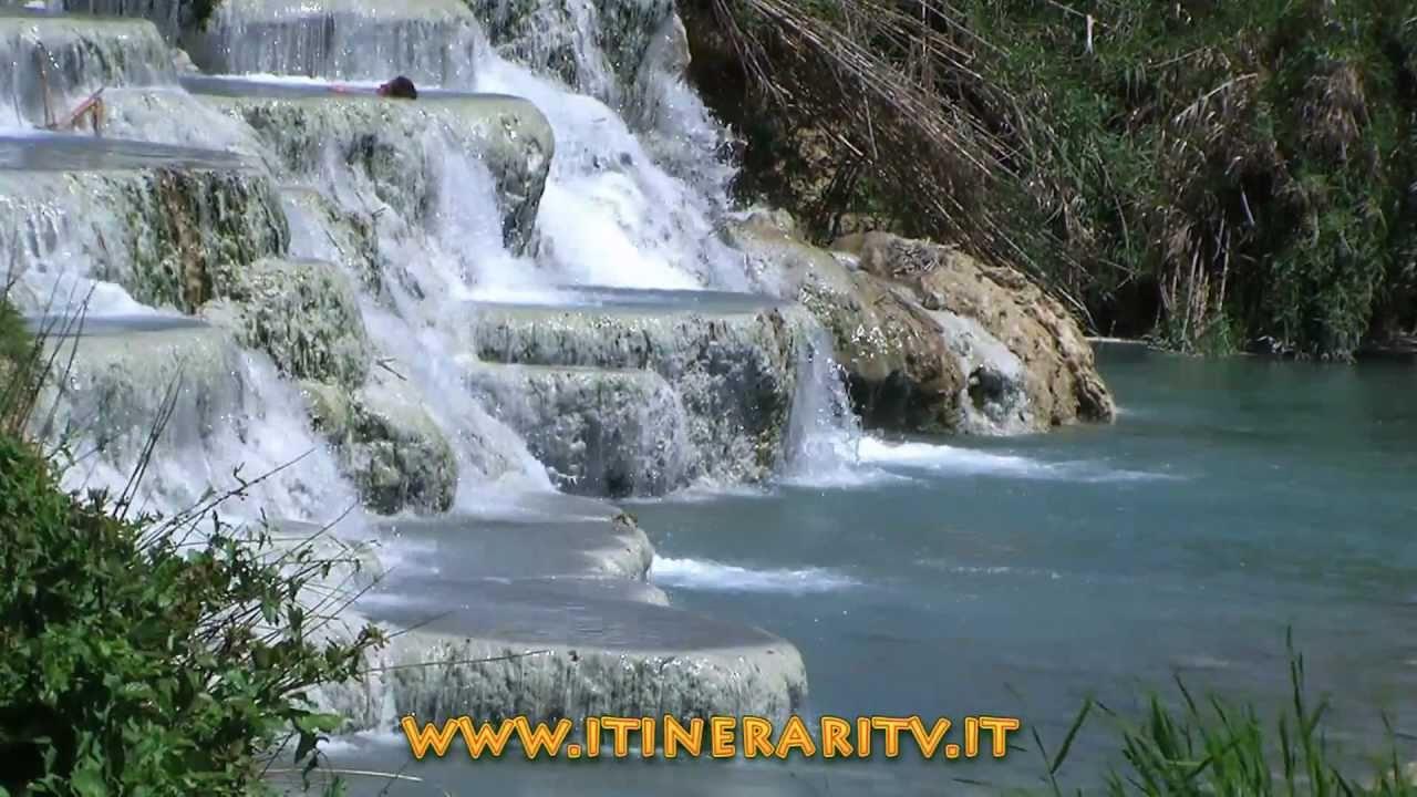 Terme di saturnia, le cascatelle del mulino in alta definizione ...