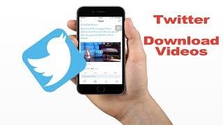 How To Download Twitter Videos (No Jailbreak)