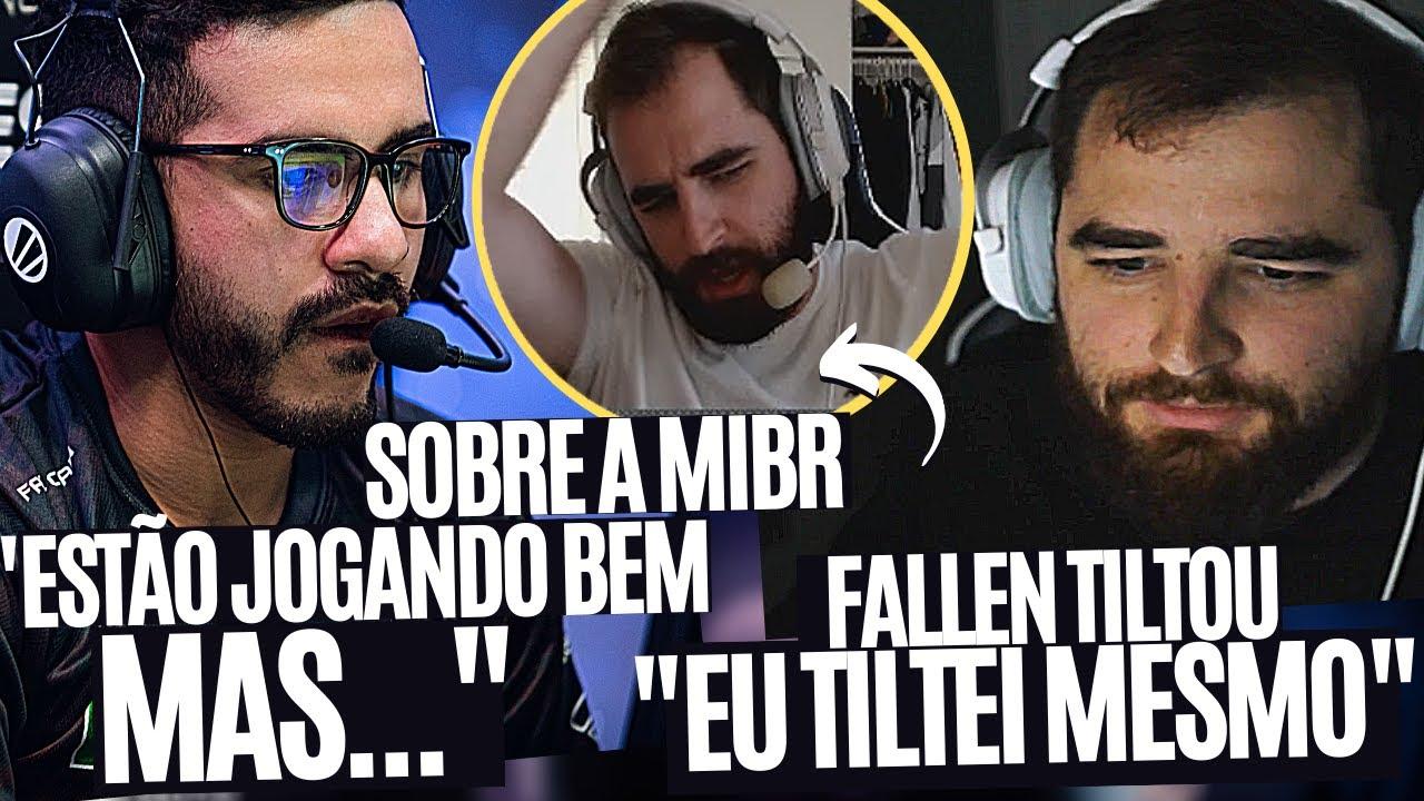 COLDZERA DÁ SUA OPINIÃO SOBRE A NOVA MIBR, FALLEN FICA TILTADO E ABANDONA LIVE, FER PINANDO E MAIS!