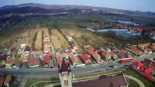 Biserica Sf.Treime-Oituz(filmari aeriene)