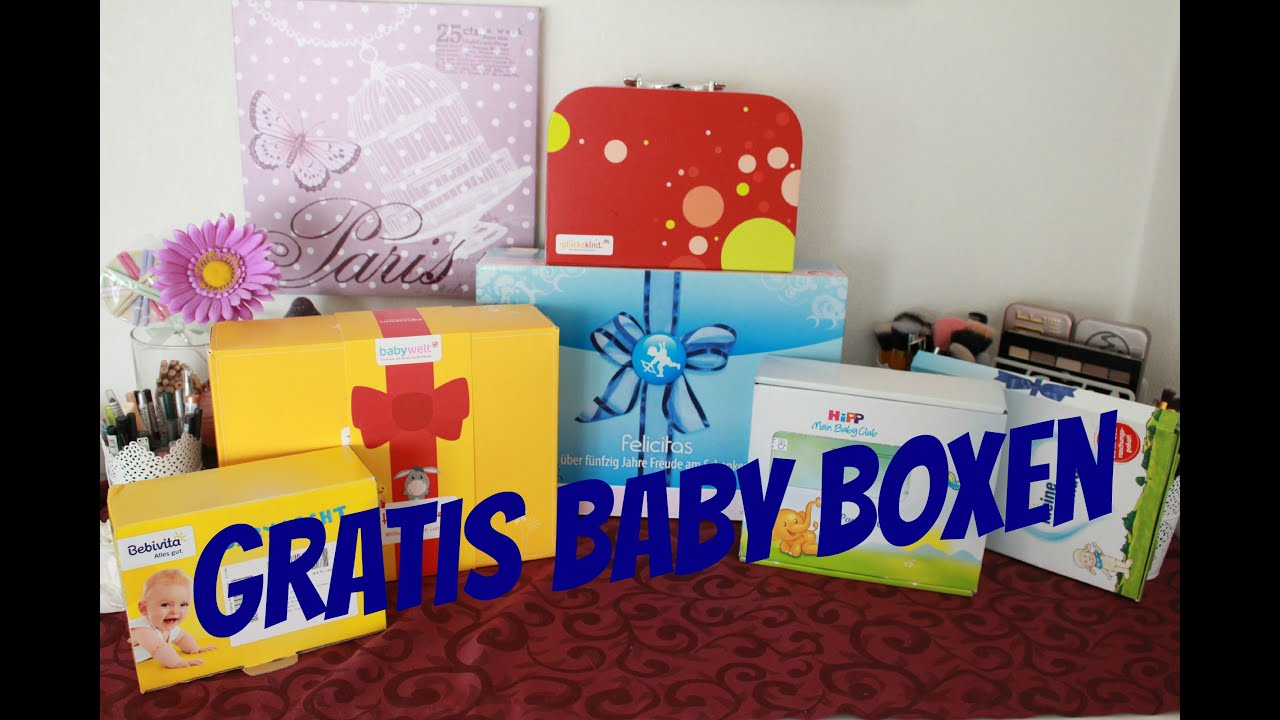 Gratis Babyboxen Video - Unboxing - YouTube