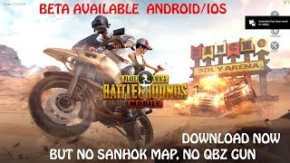 PUBG MOBILE UPDATE 0.7.5 BETA OUT, DOWNLOAD NOW, IOS AND ANDROID