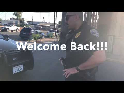 """Can you ticket yourself sir!"" 1st Amendment Audit Bakersfie"
