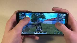 Игры Samsung Galaxy A9 2018 (GTA:SanAndreas, PUBG:Mobile, WoT:Blitz)