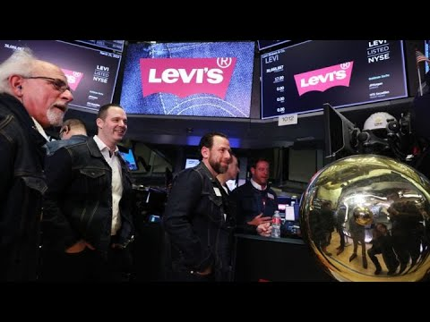Levi Strauss opens at $22.22 per share