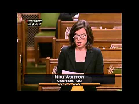 NDP MP Niki Ashton moves to protect SK Lakes
