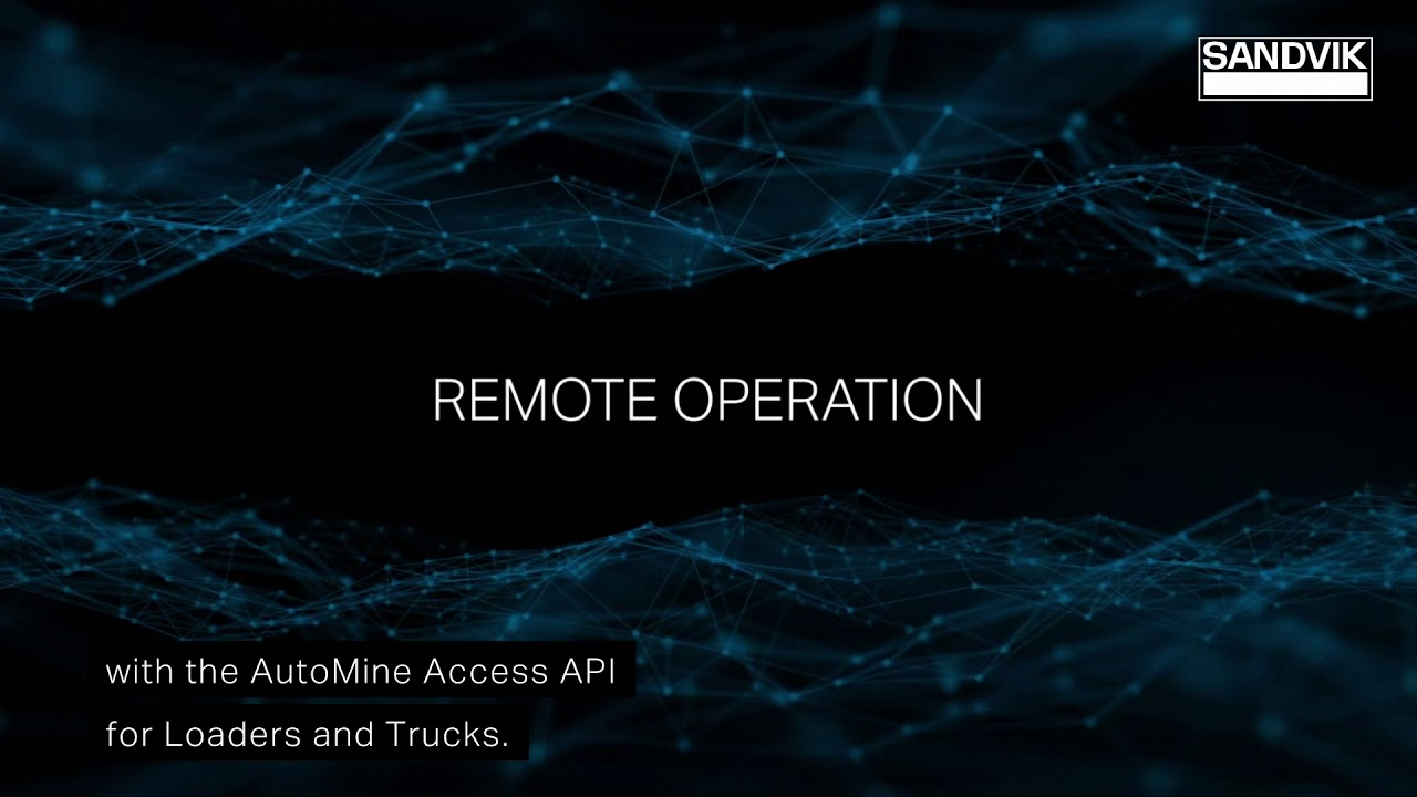 AutoMine® Access API for Loaders and Trucks