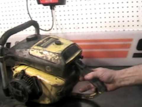 The chainsaw guy shop talk McCulloch 125 racing chainsaw 101B 3 31.AVI