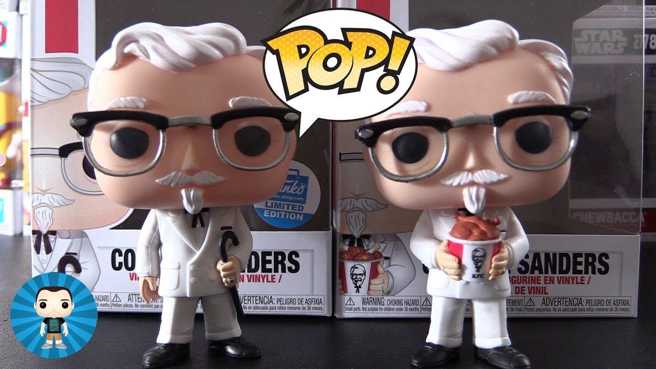 KFC COLONEL SANDERS FIGURINE FUNKO POP