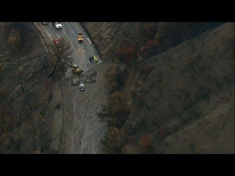 At least 17 killed in California mudslides