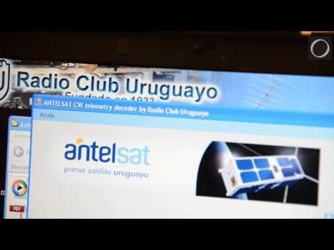 Radioaficionados uruguayos explican cómo se comunican con el Antel-SAT, el primer objeto espacial nacional