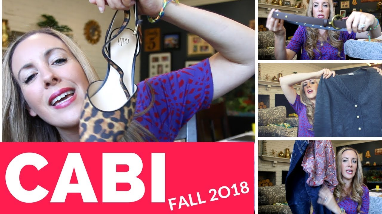 c140005557cb1 Cabi Clothing Fall Collection 2018 Outfit Unboxing  Come Shop With ...