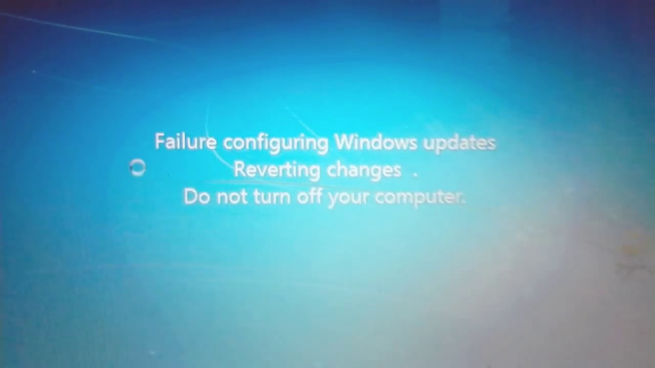 how to turn off configuring windows updates windows 7