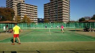 2015/11/28 東大和公園テニス