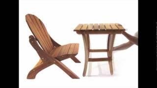 Cedar Crossing Ottoman\table