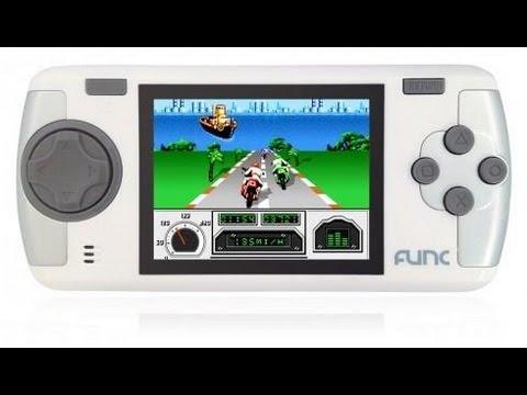 Обзор портативной игровой консоли FUNC MGS-03 - YouTube