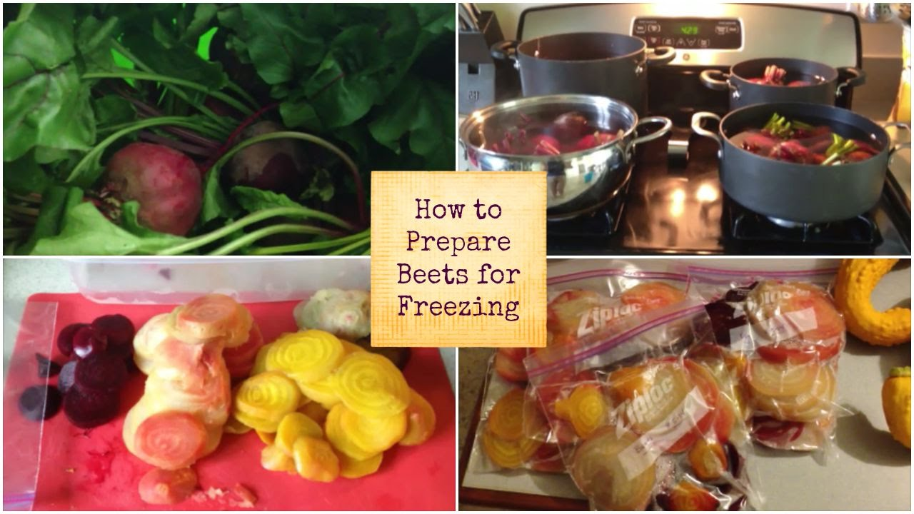 How to freeze beets for the winter For subsequent use for borsch