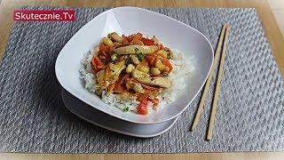 Szybki kurczak z warzywami | Stir-fry w stylu azjatyckim :: Skutecznie.Tv [HD]