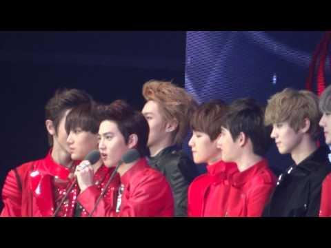 121130 EXO New male group award@ Mnet Asian Music Awards