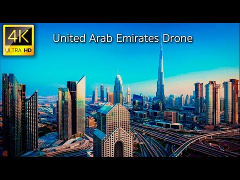 United Arab Emirates (UAE) in 4K UHD Drone | Explore Abu Dhabi, Dubai, UAE in 4K Drone