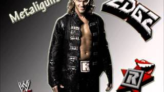 """WWE : Edge 6th Theme song """"Metaliguns"""" (with Arena Effect)"""
