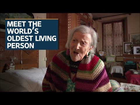 At 116, Emma Morano is the world's oldest living person