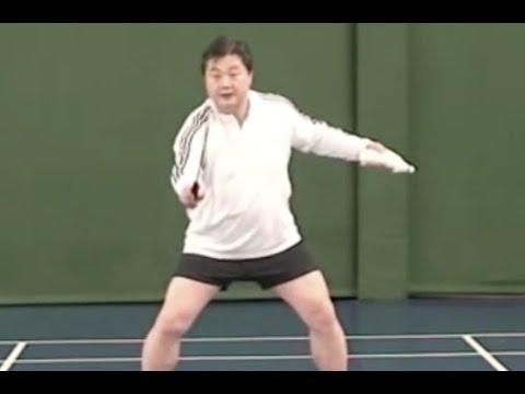 Badminton Doubles: Smash Defense Posture