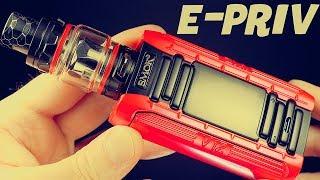 SMOK E-Priv Vape Kit! Dual Mesh Coil Head!