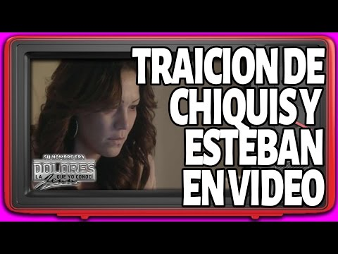 🔥 Su Nombre Era Dolores EP12 - Jenni ve el video de la traicion de Chiquis y Esteban - El Review
