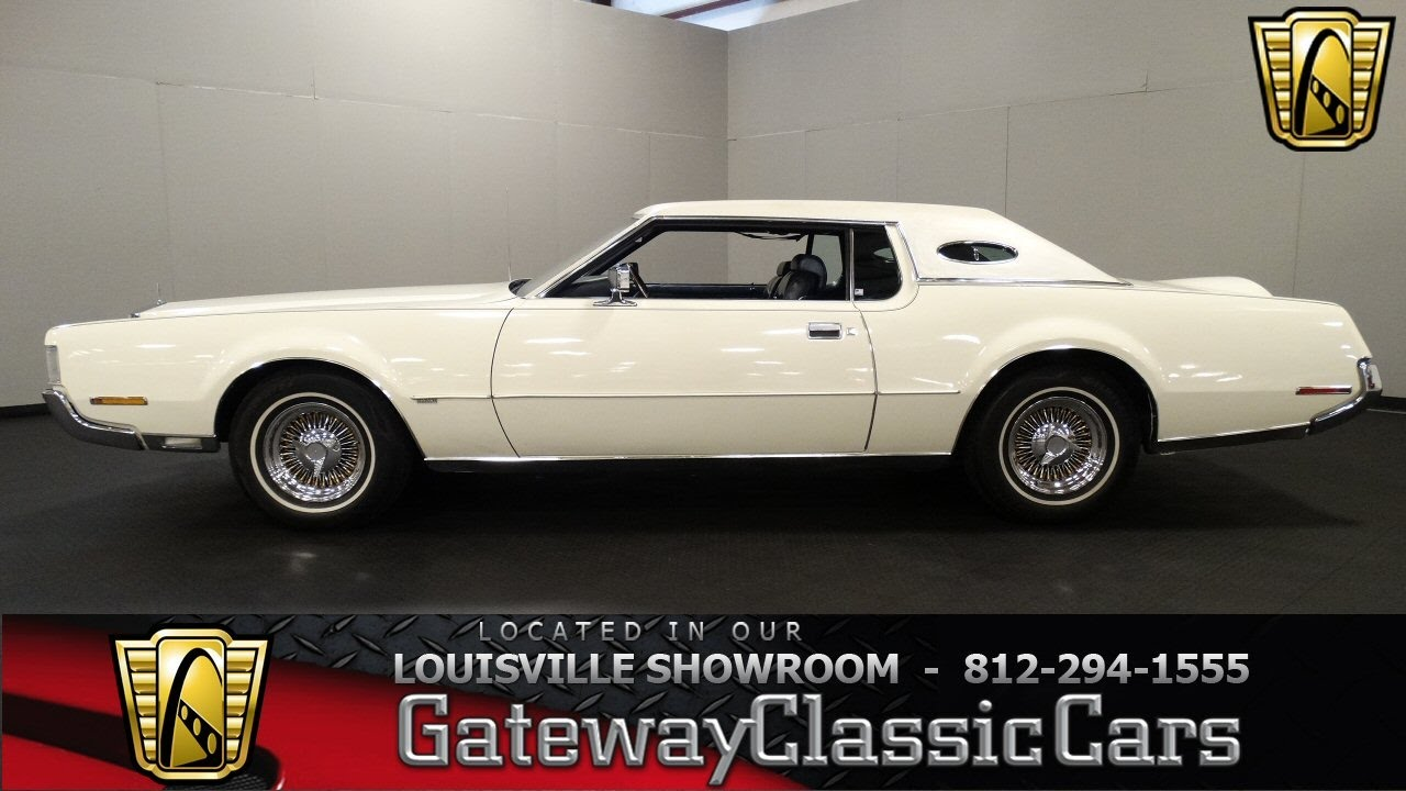 1972 Lincoln Continental Mark Iv Louisville Showroom Stock