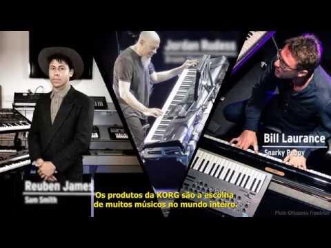 KORG® C1: Um Novo Conceito em Pianos Digitais.