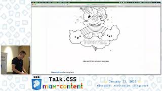 Font stacks with CSS variables - Talk.CSS #24 max-content Edition - SingaporeCSS