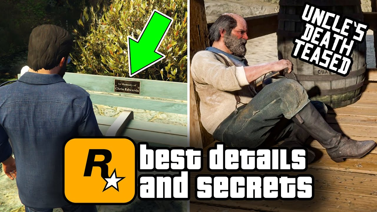 10 of the Best Details & Secrets in Rockstar Games (2021)