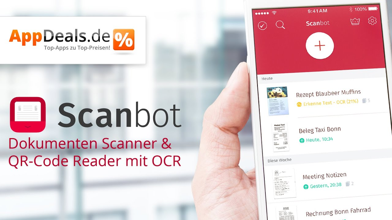 Scanbot Mobile Scanner Appdeals De