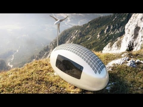 Tomorrow Daily - Live off the grid in this tiny, portable egg-shaped house, Ep. 184
