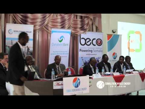 Plenary 2: Somali Renewable Energy Projects