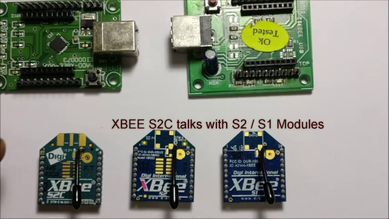 XBEE S2C can Talk with S2 & S1 Modules | alselectro