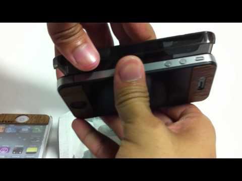 วิธีการใส่ case ของ iPhone 4 และ 4S