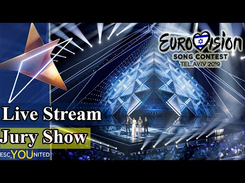 Eurovision 2019: Semi Final 1 JURY SHOW (From Press Center)