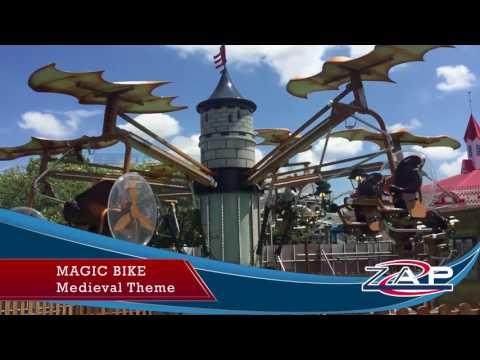 Magic Bike - Medieval Theme