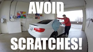 Avoid Scratching Your Paint When Washing & Drying Your Car