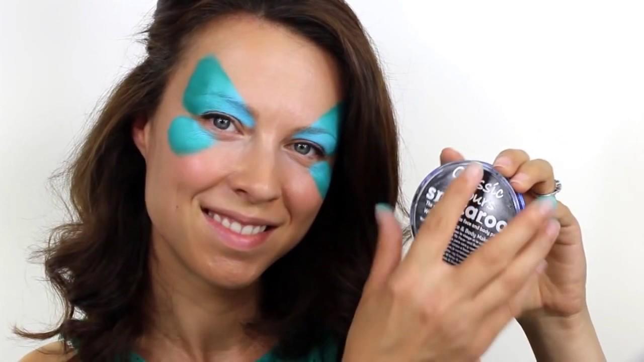Tuto maquillage Papillon bleu