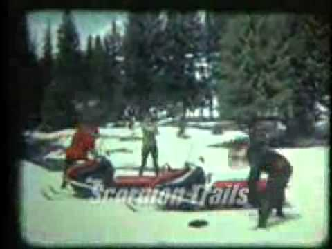 Scorpion Snowmobile 1969 Tv Commercial 20 Seconds Youtube