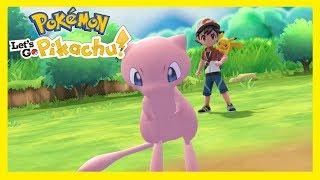 Pokemon: Let's Go Pikachu! (02) - Mew! | Vertez